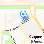 Гранит-Монумент на карте Барнаула