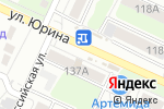 Схема проезда до компании SeventhRose в Барнауле