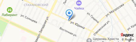 SeventhRose на карте Барнаула