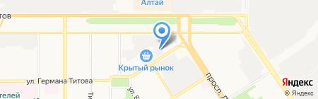 Оптовая фирма на карте Барнаула