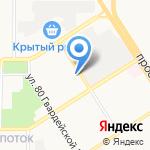 Алтиж на карте Барнаула