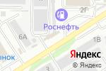 Схема проезда до компании Гранит-Вечность в Барнауле