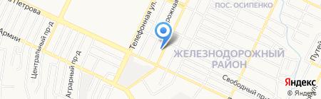 Матроскин на карте Барнаула