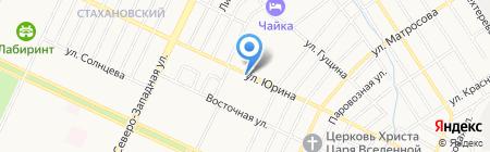 Манхеттен-Гриль на карте Барнаула