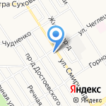 Петрович и Ко на карте Барнаула