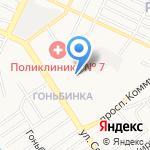 Детский сад №162 на карте Барнаула