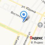 Байкал на карте Барнаула