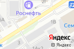 Схема проезда до компании СПК Стройметрика в Барнауле