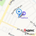 Огонёк на карте Барнаула