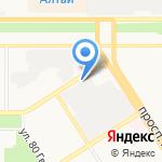 ПожСервис на карте Барнаула
