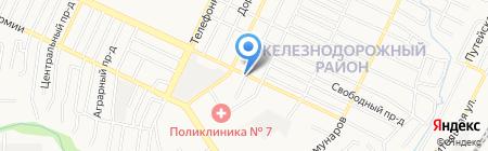 Мастерская по ремонту сотовых телефонов на карте Барнаула