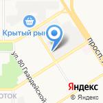 КомпанияРЕС на карте Барнаула