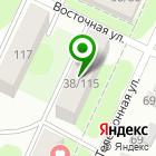 Местоположение компании Продуктовый супермаркет