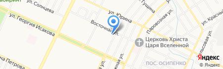 Алтайгаздиагностика на карте Барнаула