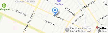 Центр страховых услуг на карте Барнаула