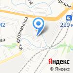 АВТО СУП на карте Барнаула