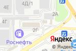 Схема проезда до компании РусТех в Барнауле