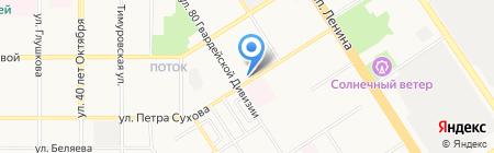 Паспортно-визовый сервис на карте Барнаула