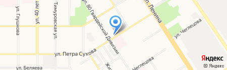 SEVEN на карте Барнаула
