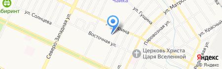 101 на карте Барнаула