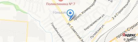 Кураж на карте Барнаула