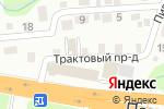 Схема проезда до компании makk. Автомагазин. Сервис в Барнауле