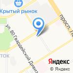 Три богатыря на карте Барнаула