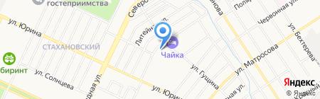 Фигура на карте Барнаула