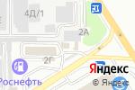 Схема проезда до компании Пит-стоп в Барнауле