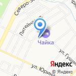 Юма-Мед на карте Барнаула