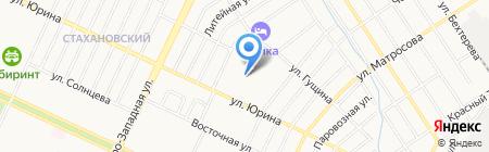 ТСЖ-122 на карте Барнаула