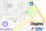 Схема проезда до компании ЮМО в Барнауле