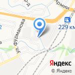 Нармед на карте Барнаула