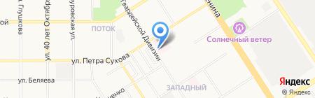 Травмпункт глазной на карте Барнаула