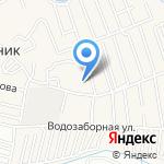 САДЫ АЛТАЯ на карте Барнаула