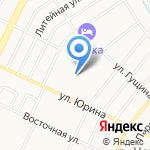 ТСЖ №122 на карте Барнаула