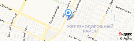 Приход соборной мечети г. Барнаула на карте Барнаула