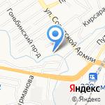 Мастерская на карте Барнаула