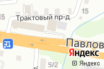 Схема проезда до компании zavGar в Барнауле