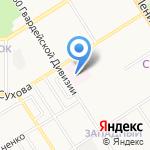 Глазной травмпункт на карте Барнаула