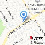 Аналитический Центр-Водоочистка на карте Барнаула