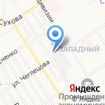 Барнаульский государственный педагогический колледж на карте Барнаула