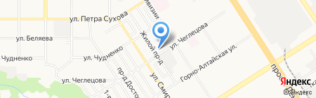 Железный спорт на карте Барнаула