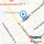 Стройдом на карте Барнаула