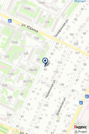 СпецСтройТранс на карте Барнаула