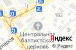 Схема проезда до компании Центральная барнаульская церковь Евангельских христиан-баптистов в Барнауле