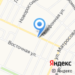 ЮТеЛ на карте Барнаула