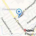 Центральная барнаульская церковь Евангельских христиан-баптистов на карте Барнаула