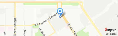 Авто-Мазда на карте Барнаула