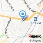 Аква-Сити на карте Барнаула